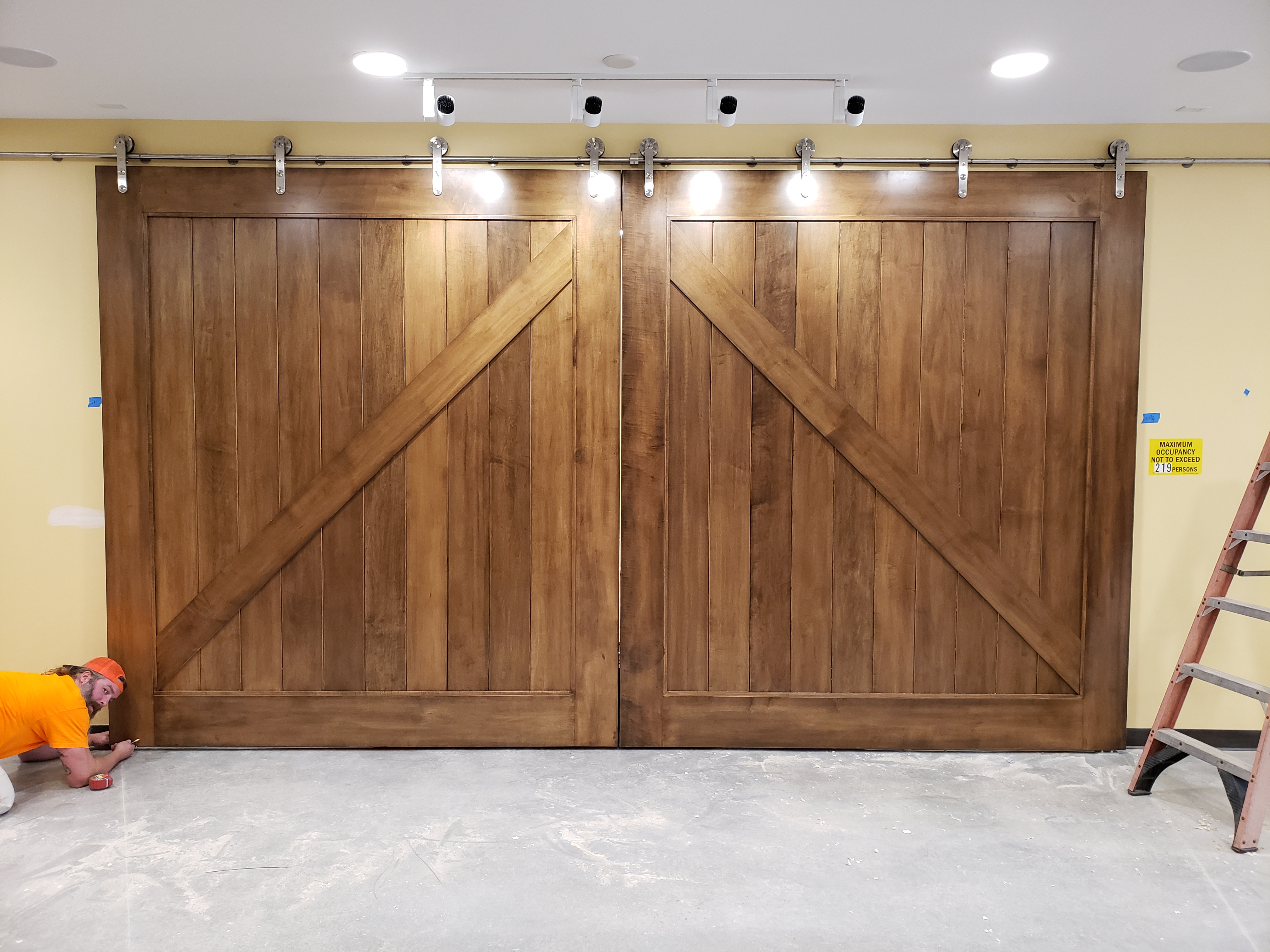 Barn Doors at the University of Missouri Columbia.