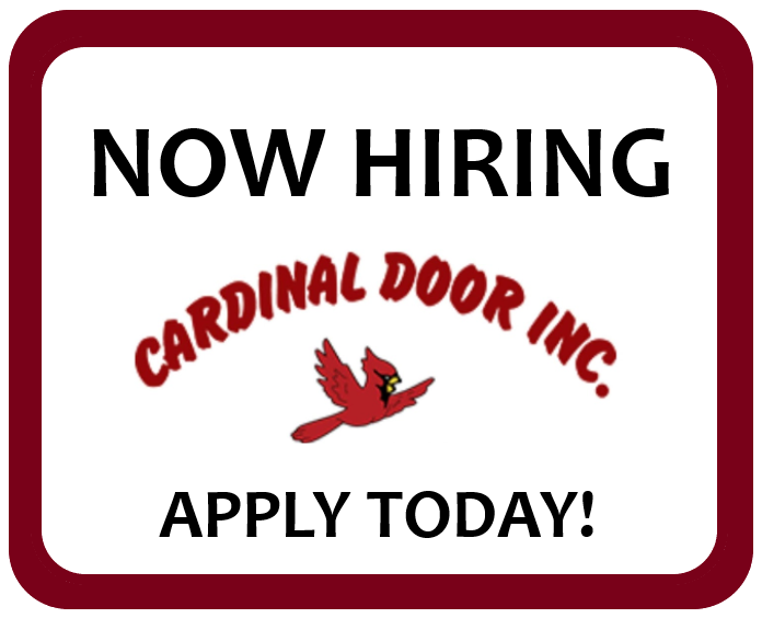 Cardinal Door is Hiring!